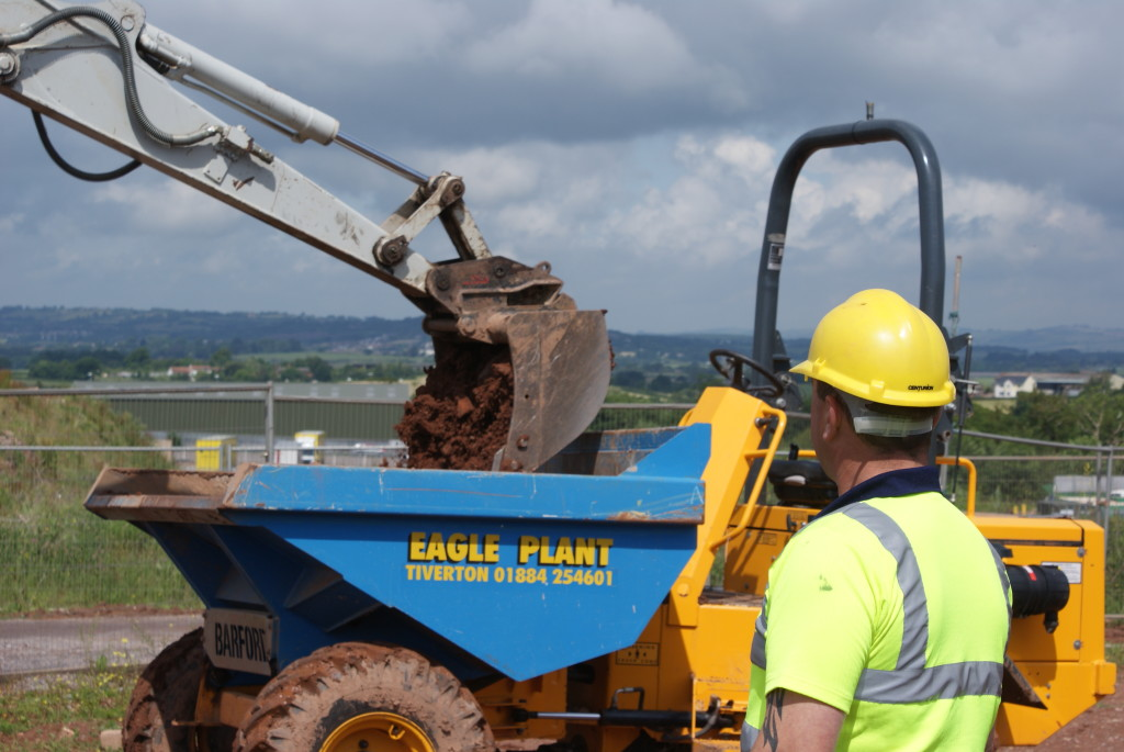 construction plant training in devon
