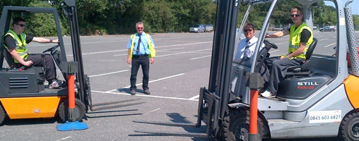 Fork Lift Truck Training