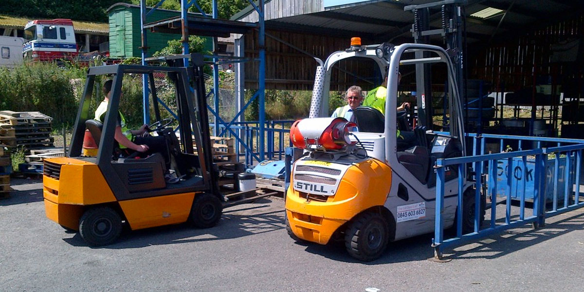 Forklift Training - Exeter quote
